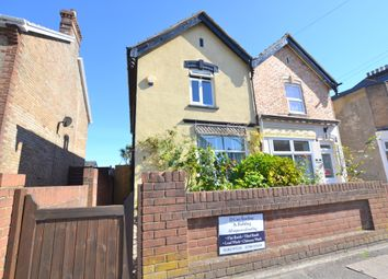 Thumbnail 2 bedroom semi-detached house for sale in Victoria Road, Parkstone, Poole