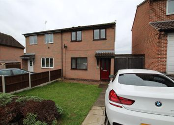 Thumbnail 3 bed semi-detached house for sale in Meynell Close, Stapenhill, Burton-On-Trent
