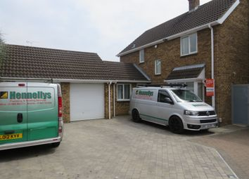 Thumbnail 4 bedroom detached house for sale in Willenhall Close, Luton