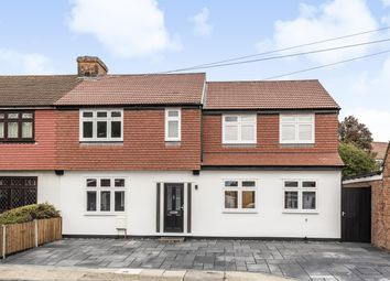 4 bed semi-detached house for sale in Hamilton Avenue, Romford, Essex RM1