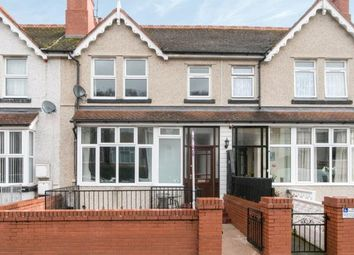 Thumbnail 4 bed terraced house for sale in Dundonald Road, Colwyn Bay, Conwy, North Wales