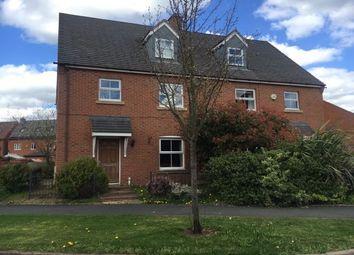 Thumbnail 4 bedroom property to rent in Deykin Road, Lichfield