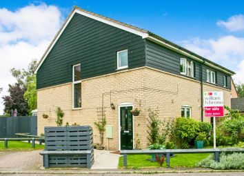 Thumbnail 3 bed semi-detached house for sale in Silvers Close, Soham, Ely