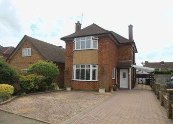 Thumbnail 3 bed detached house for sale in Deerings Road, Hillmorton, Rugby