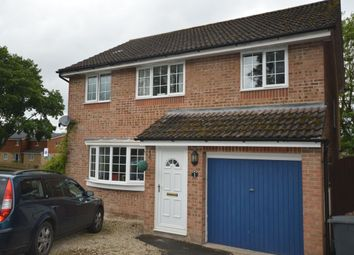 Thumbnail 3 bed detached house for sale in Cornfields, Andover