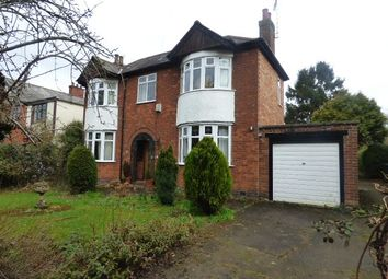Thumbnail 3 bed detached house for sale in Dunton Road, Broughton Astley, Leicester, Leicestershire