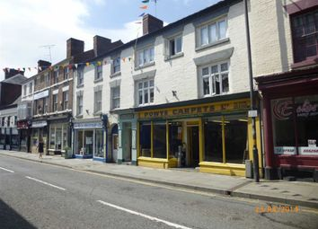 Thumbnail 2 bed flat to rent in Flat 3, 16/17 Berriew Street, Welshpool, Welshpool, Powys