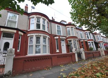 Thumbnail 4 bed terraced house for sale in Eaton Street, Wallasey