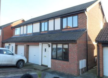 Thumbnail 3 bed semi-detached house to rent in Coleridge Drive, Choppington