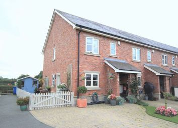 Thumbnail 3 bed end terrace house for sale in Worthenbury, Wrexham