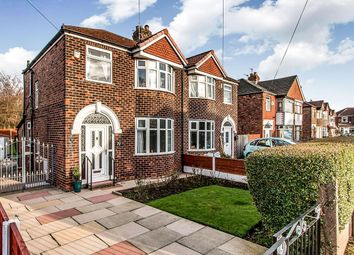 Thumbnail 3 bed semi-detached house for sale in Castleton Avenue, Stretford, Manchester