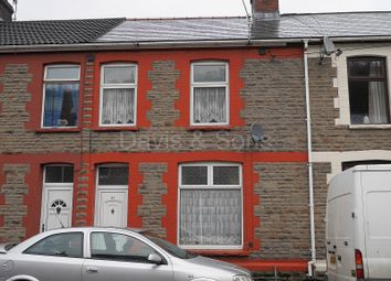 Thumbnail 2 bed terraced house for sale in Railway Street, Llanhilleth, Abertillery, Blaenau Gwent.