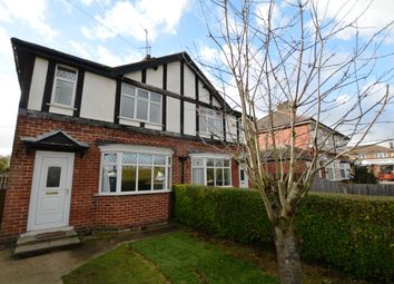 Thumbnail 3 bed semi-detached house to rent in Lower Kirklington Road, Southwell