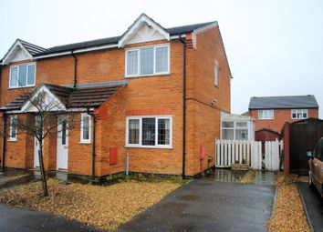 Thumbnail 3 bed semi-detached house for sale in Manwaring Way, Swineshead, Boston
