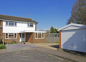 Thumbnail 3 bed detached house for sale in Ingram Close, Steyning, West Sussex
