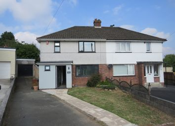 Thumbnail 3 bed semi-detached house for sale in Merafield Close, Plympton, Plymouth