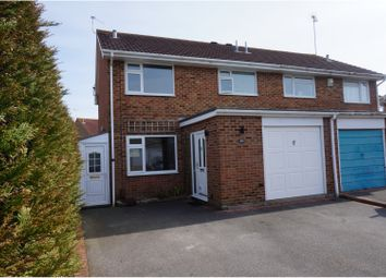 Thumbnail 3 bed semi-detached house for sale in Hewitt Road, Poole