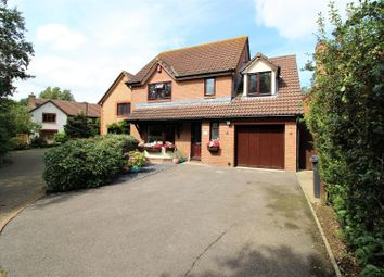 Thumbnail 4 bedroom detached house for sale in Hardwick Close, Swindon