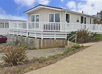 Thumbnail 3 bed mobile/park home for sale in Whitecliff Bay, Bembridge, Isle Of Wight