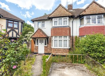 Thumbnail 3 bed semi-detached house for sale in Lawn Close, Ruislip, Middlesex