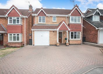 Thumbnail 4 bed detached house for sale in Juniper Close, Bedworth