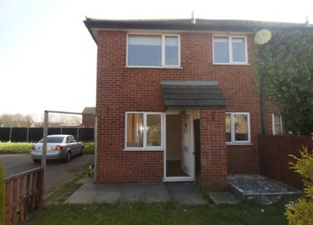 Thumbnail 1 bedroom mews house for sale in Longhurst Close, Leicester