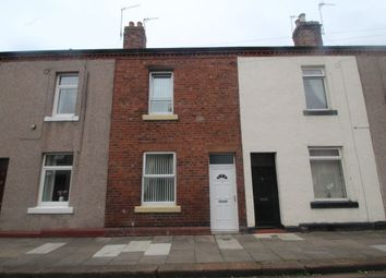 Thumbnail 2 bed terraced house for sale in Lindisfarne Street, Carlisle