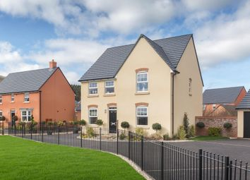 "Thumbnail 4 bedroom detached house for sale in ""Holden"" at Wonastow Road, Monmouth"