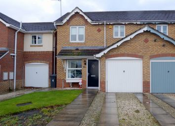 Thumbnail 3 bed semi-detached house for sale in Lavender Close, Kingswood, Hull, East Riding Of Yorkshire