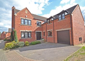 Thumbnail 4 bed detached house for sale in Calderstone Court, Middlestown, Wakefield