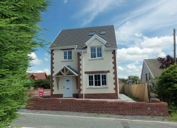 Thumbnail 4 bed detached house for sale in Heol Y Foel, Foelgastell, Carmarthenshire.