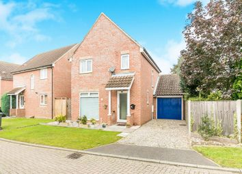 Thumbnail 3 bed detached house for sale in Lynns Hall Close, Great Waldingfield, Sudbury