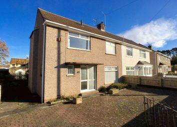 Thumbnail 3 bed semi-detached house for sale in Castle Avenue, Penarth
