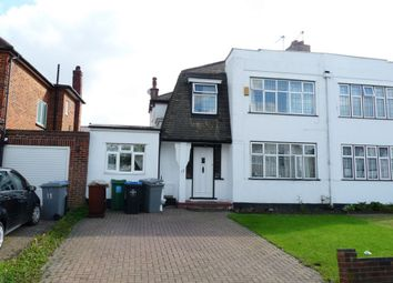 Thumbnail 4 bed semi-detached house for sale in Chapman Crescent, Kenton