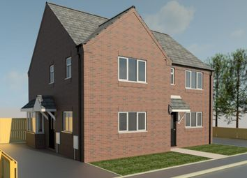 Thumbnail 3 bed semi-detached house for sale in Hornbeam Close, Ruskington, Sleaford