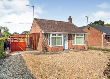 Thumbnail 2 bedroom detached bungalow for sale in Listers Road, Upwell, Wisbech