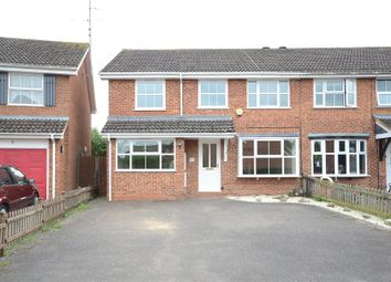 Thumbnail 5 bed semi-detached house for sale in Melling Close, Earley, Reading