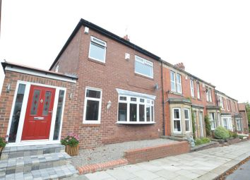Thumbnail 3 bed terraced house for sale in Matfen Place, Fenham, Newcastle Upon Tyne