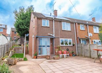 Thumbnail 3 bed end terrace house for sale in Hunivers Place, Crediton