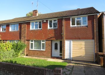 Thumbnail 4 bed semi-detached house for sale in Bradden Close, Kingsthorpe, Northampton