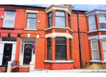 Thumbnail 4 bed terraced house for sale in Russell Road, Liverpool