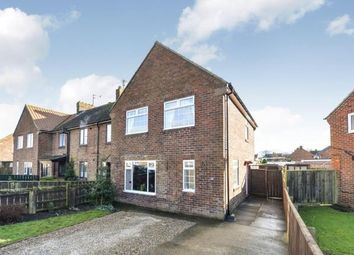 Thumbnail 3 bedroom end terrace house for sale in Allen Grove, Stokesley, North Yorkshire