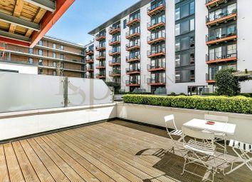 Thumbnail 1 bed flat to rent in Warehouse Court, Royal Arsenal Riverside