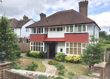 Thumbnail 4 bed detached house to rent in Downsway, Sanderstead, South Croydon