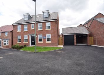 Thumbnail 5 bed detached house for sale in Wellfield Way, Whitchurch