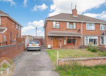 Thumbnail 3 bed semi-detached house for sale in Longleaze, Royal Wootton Bassett, Swindon