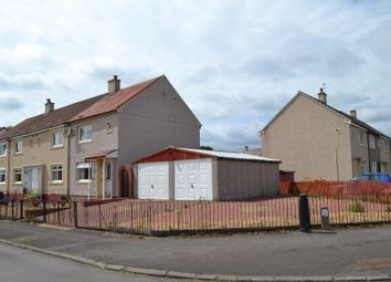 Thumbnail 2 bed end terrace house for sale in Warnock Crescent, Bellshill