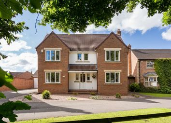 Thumbnail 4 bed detached house for sale in Moray Close, Strensall, York