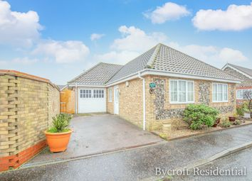 Thumbnail 3 bed detached bungalow for sale in Watsons Close, Hopton, Great Yarmouth
