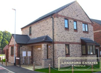Thumbnail 3 bedroom detached house for sale in Oaks Drive, Necton, Brand New